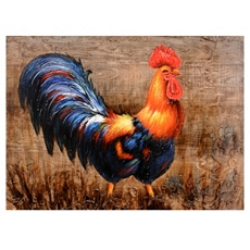 Florence Rooster Canvas Art Print at Kirkland's