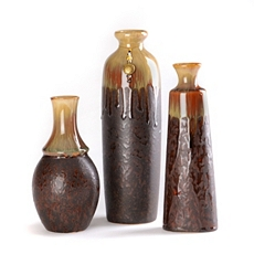 Heritage Brown Vase, Set of 3 at Kirkland's