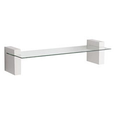 Cooperstown White Wall Shelf, 24 in. at Kirkland's