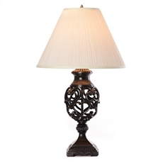 Open Heart Scroll Table Lamp at Kirkland's