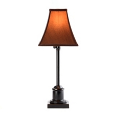 Adjustable Bronze & Brown Table Lamp at Kirkland's