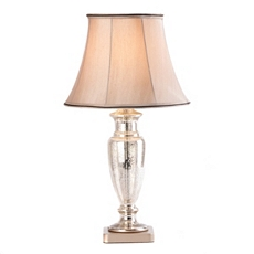 Mercury Glass Urn Table Lamp at Kirkland's