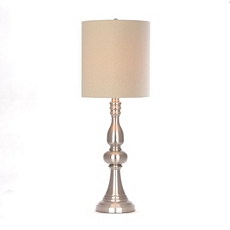 Brushed Steel Ballister Table Lamp at Kirkland's