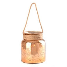 Copper Mercury Glass Lantern, 8.75 in. at Kirkland's