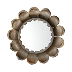 Flower Petal Wall Mirror, 26 in. at Kirkland's