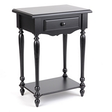 New Orleans Black Accent Table at Kirkland's