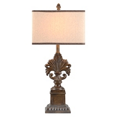 Bronze Fleur-de-Lis Table Lamp at Kirkland's