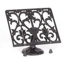 Cast Iron Cookbook Holder at Kirkland's