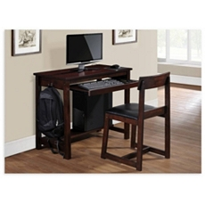 Imperial Espresso Study Desk with Chair at Kirkland's