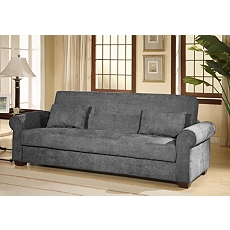 Roxbury Gray Convertible Storage Sofa at Kirkland's
