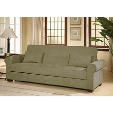 Roxbury Olive Convertible Storage Sofa at Kirkland's
