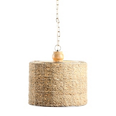 Natural Jute Pendant Light at Kirkland's