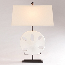 Sand Dollar Table Lamp at Kirkland's