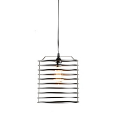 Black Open Metal Pendant Light at Kirkland's