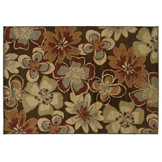 Darcy Spicy Floral Area Rug, 8x10 at Kirkland's