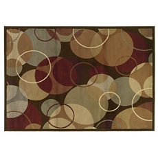 Campbell Overlapping Circles Area Rug, 5x7 at Kirkland's