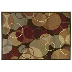 Campbell Overlapping Circles Area Rug, 8x10 at Kirkland's