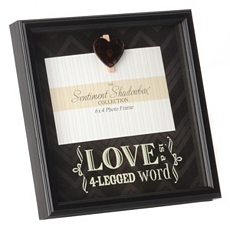 Love Is A 4-Legged Word Picture Frame, 4x6 at Kirkland's