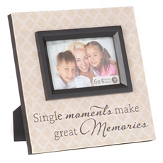 Single Moments Canvas Picture Frame, 4x6 at Kirkland's