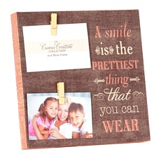 Smile Clothespin Canvas Collage Frame at Kirkland's