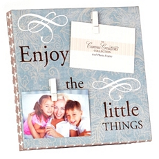 Little Things Clothespin Canvas Collage Frame at Kirkland's