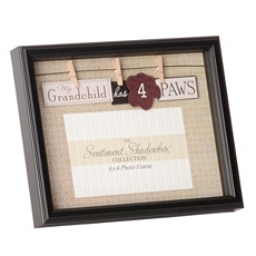 My Grandchild Has 4 Paws Picture Frame, 4x6 at Kirkland's