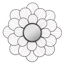 Keralyn Floral Wall Mirror, 22 in. at Kirkland's