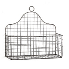 Metal Wall Basket at Kirkland's