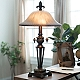 Prescott Bronze Glass Table Lamp at Kirkland's