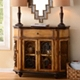Half Round Scroll Cabinet Console at Kirkland's