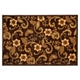Neely Floral Brown Rug at Kirkland's