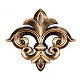 Fleur-de-Lis Bling Wall Plaque at Kirkland's