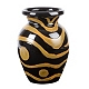 Black Stripe Ceramic Vase at Kirkland's