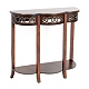 Mahogany Clover Console Table at Kirkland's