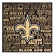 New Orleans Saints Victory Plaque at Kirkland's