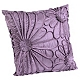 Upscale Purple Flower Pillow at Kirkland's