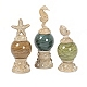 Seaside Glass Orb Finial, Set of 3 at Kirkland's