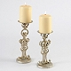 Silver Fleur-de-Lis Candle Holder, Set of 2 at Kirkland's