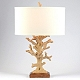 Cream Coral Table Lamp at Kirkland's