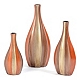 Cirque Metallic Ceramic Vase, Set of 3 at Kirkland's