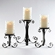 Hammered Glass & Metal Candle Holder, Set of 3 at Kirkland's