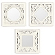 Cream Art Deco Mirror, Set of 3 at Kirkland's