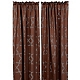 Brown & Blue Florentine Curtain Panel, Set of 2 at Kirkland's