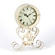 Cream Fleur-de-Lis Desk Clock at Kirkland's