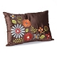 Ariel Brown Floral Pillow at Kirkland's