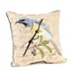 Cream Embroidered Bird Pillow at Kirkland's