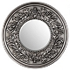 Silver Round Mirror at Kirkland's