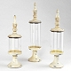 Ivory Pedestal Glass Jar, Set of 3 at Kirkland's