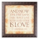 1 Corinthians 13:13 Wall Plaque at Kirkland's