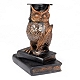 Scholarly Owl Bronze Mosaic Statue at Kirkland's